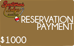$1000 Reservation Payment