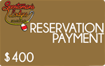 $400 Reservation Payment